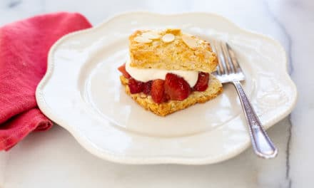 Easy Almond Shortcake Recipe (Gluten-free option)
