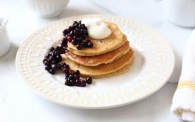 Banana Oat Blender Pancakes (Gluten Free)