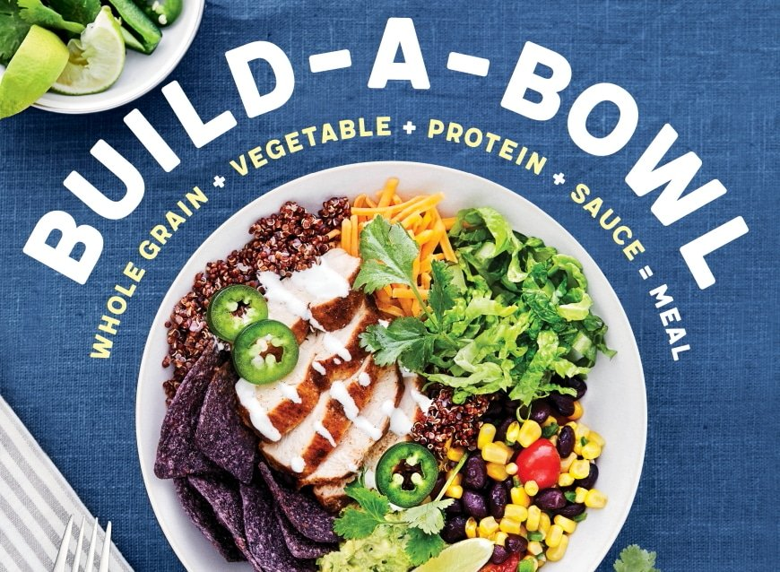 New Book! Build-a-Bowl is here!