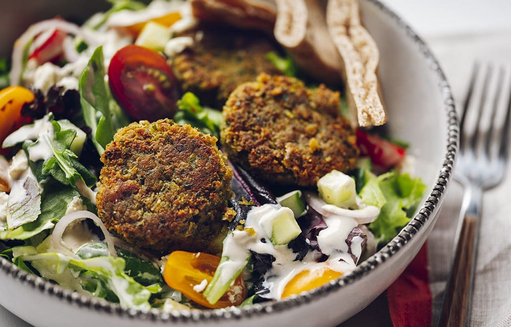 Quick & Delicious Pan Fried Falafel