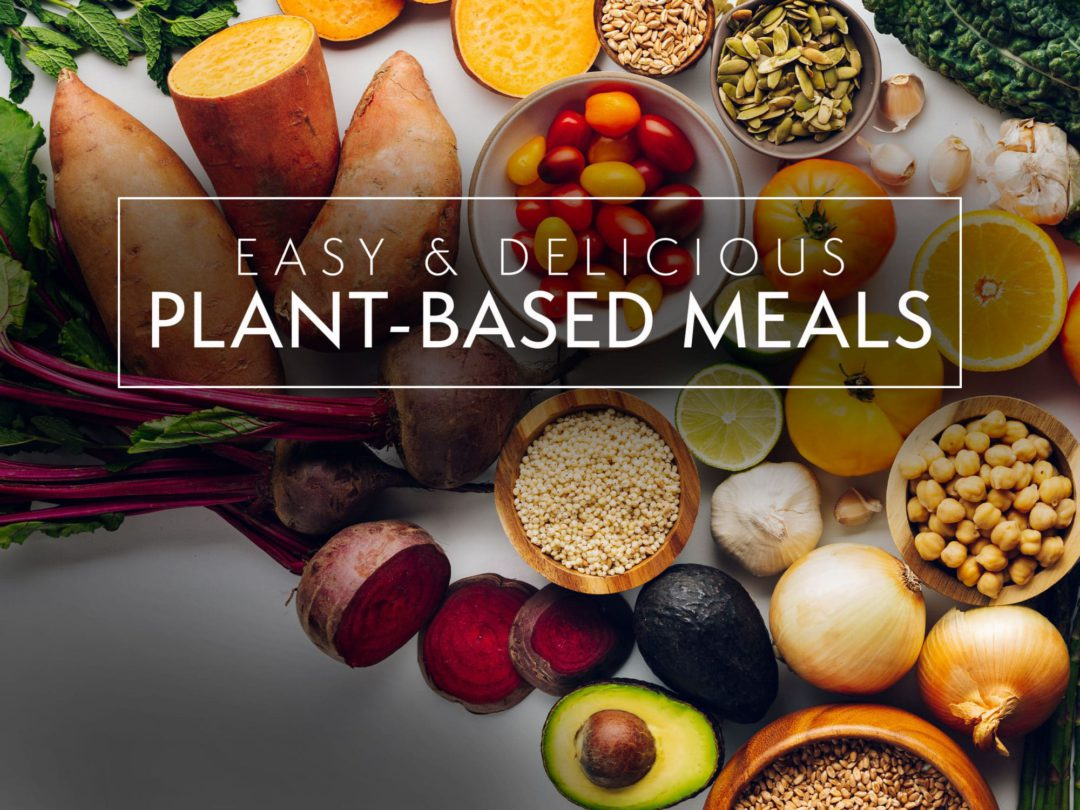 Plant based meals class at Bluprint.com