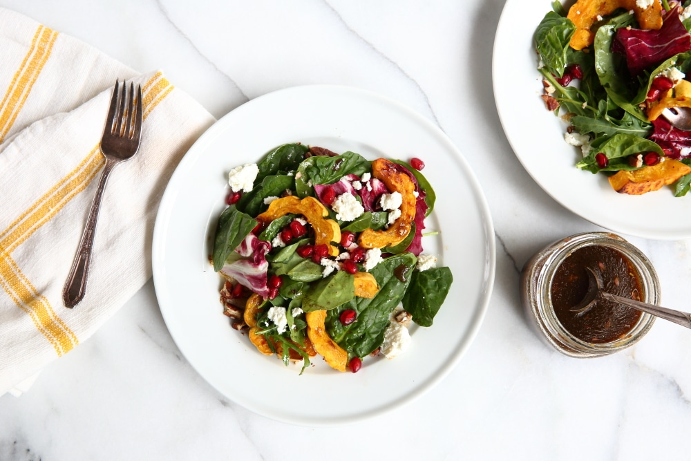 Gluten Free Recipes for Thanksgiving : Roasted Squash salad