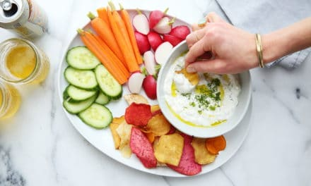Easy Yogurt Feta Dip (For Veggies or Chips!)
