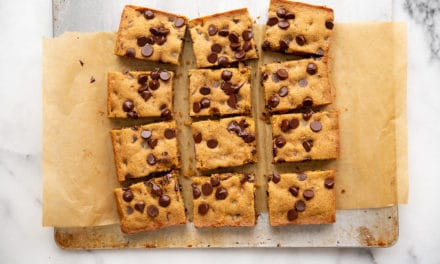 Chocolate Chip Cassava Cookie Bars: the best cassava cookies! (Gluten-Free, Paleo)
