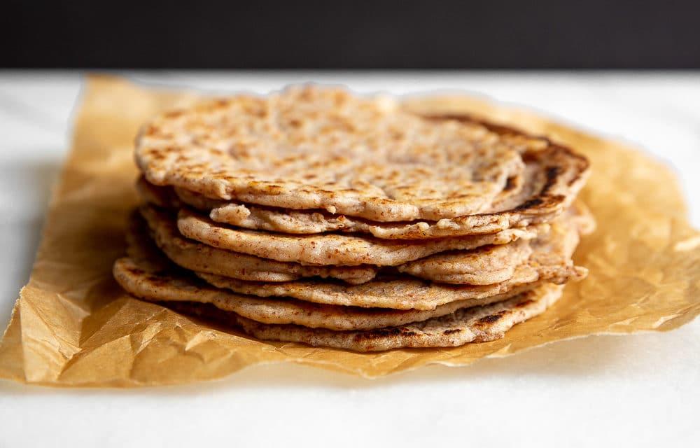 Almond & Cassava Tortilla Recipe (Paleo) – no tortilla press required!