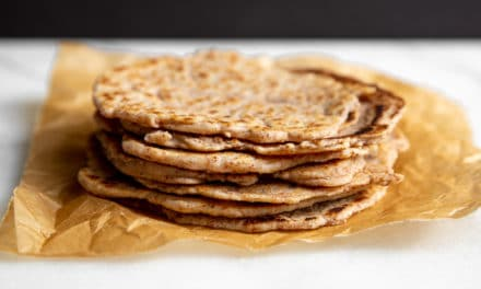 Almond & Cassava Tortilla Recipe (Paleo) – no tortilla press required!