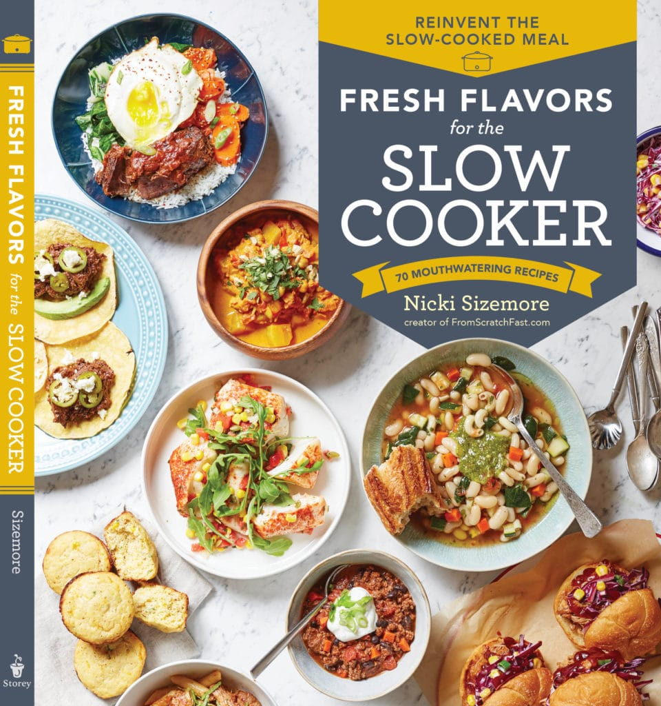 Cover image of the book, Fresh Flavors for the Slow Cooker.