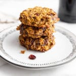 Healthy Pumpkin Breakfast Cookies (Gluten-Free & Vegan)