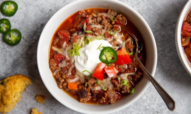 The BEST Slow Cooker Beef Chili