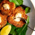 Paleo Salmon Cakes (using just pantry staples!)